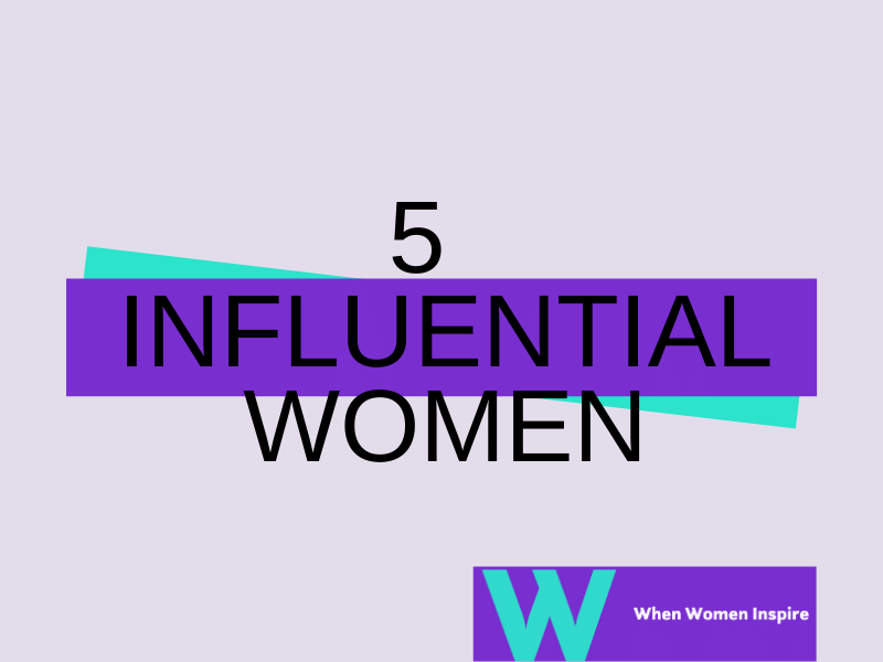 Most influencial women in world