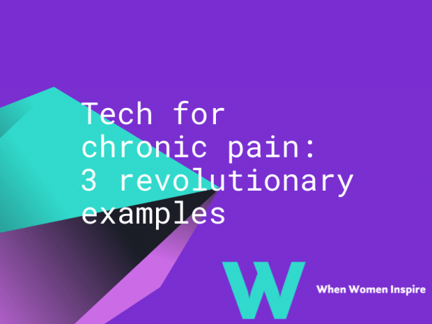 Technologies for chronic pain