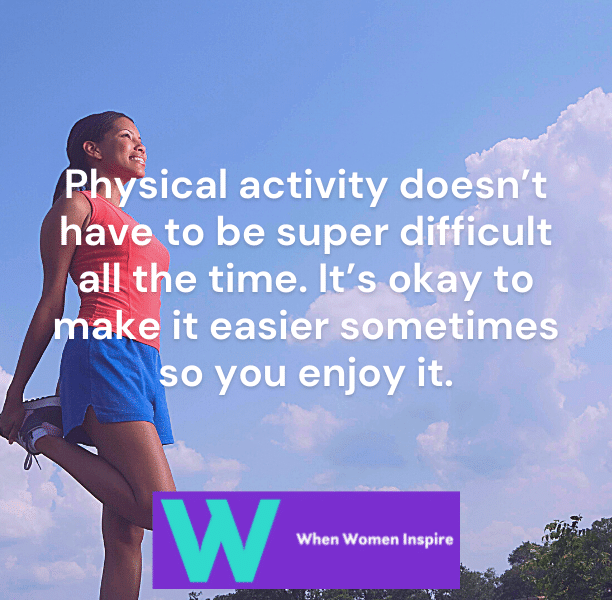 Exercise is fun quote
