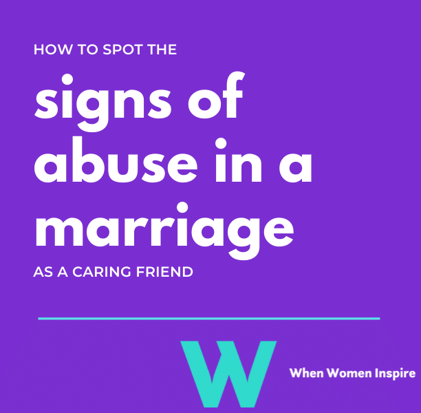 Signs of abuse in marriage