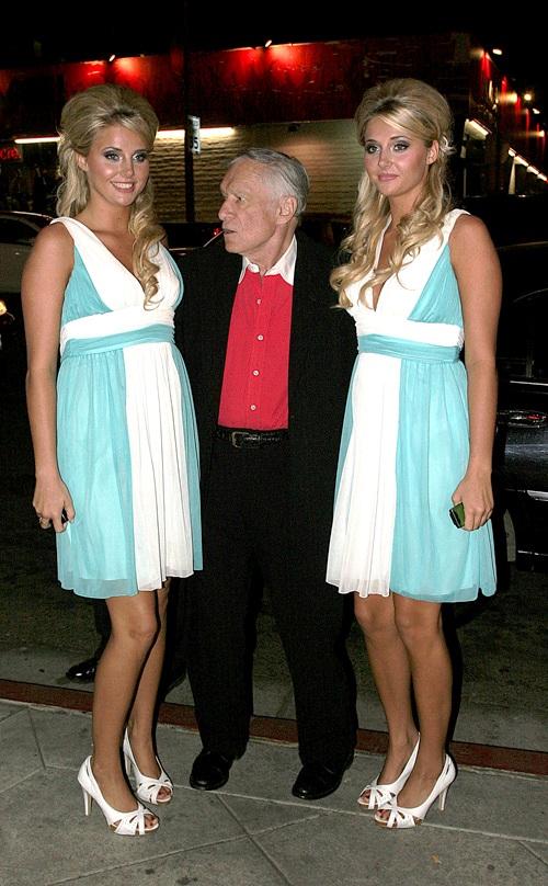 Hugh Hefner throughout the years – WETM – MyTwinTiers.com |Hugh Hefner Twin Girlfriends