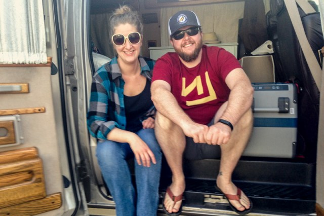 Why embark on a nomadic vanlife adventure and start a blog? Find out in this post. It's all about hitting the road with Stan the Tan Van. Our tiny home on wheels.