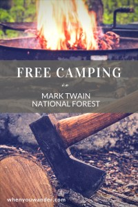 Get all the details about free camping in the Mark Twain National Forest in Missouri, a lost hiker rescue operation, and exploring the Ozark Trail.