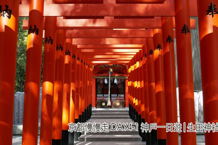 京都慢慢走Day4-1神戶一日遊 京都-神戶交通攻略.生田神社