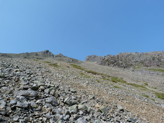 Scree Slopes on Great Gable