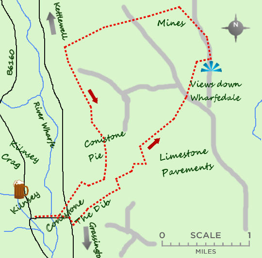 Conistone map