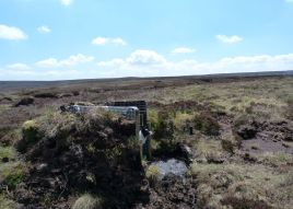 Shooting Butts on Hareden Fell