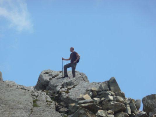Climber Bowfell