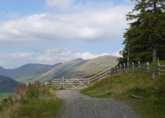 Kentmere western fells