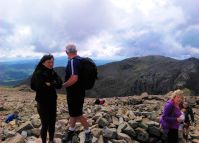 Summit of Scafell Pike