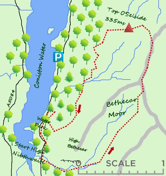 Top O'Selside map