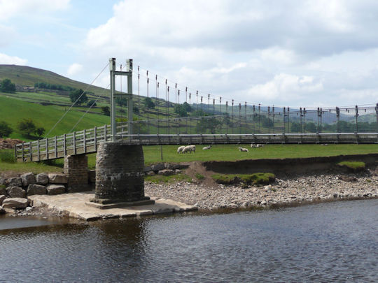 Reeth Suspension Bridge
