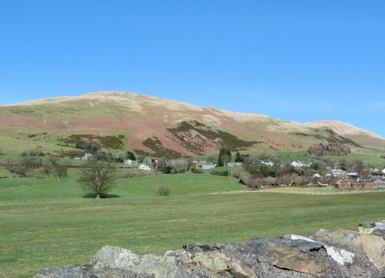 Sedbergh from the Dee