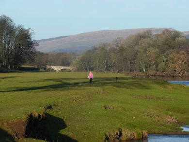 The banks of the River Lune