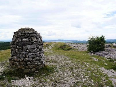 Summit of Whitbarrow