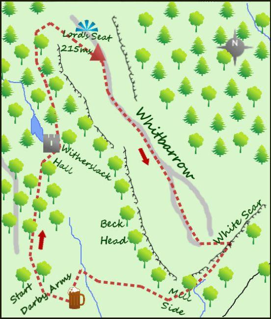 Whitbarrow map
