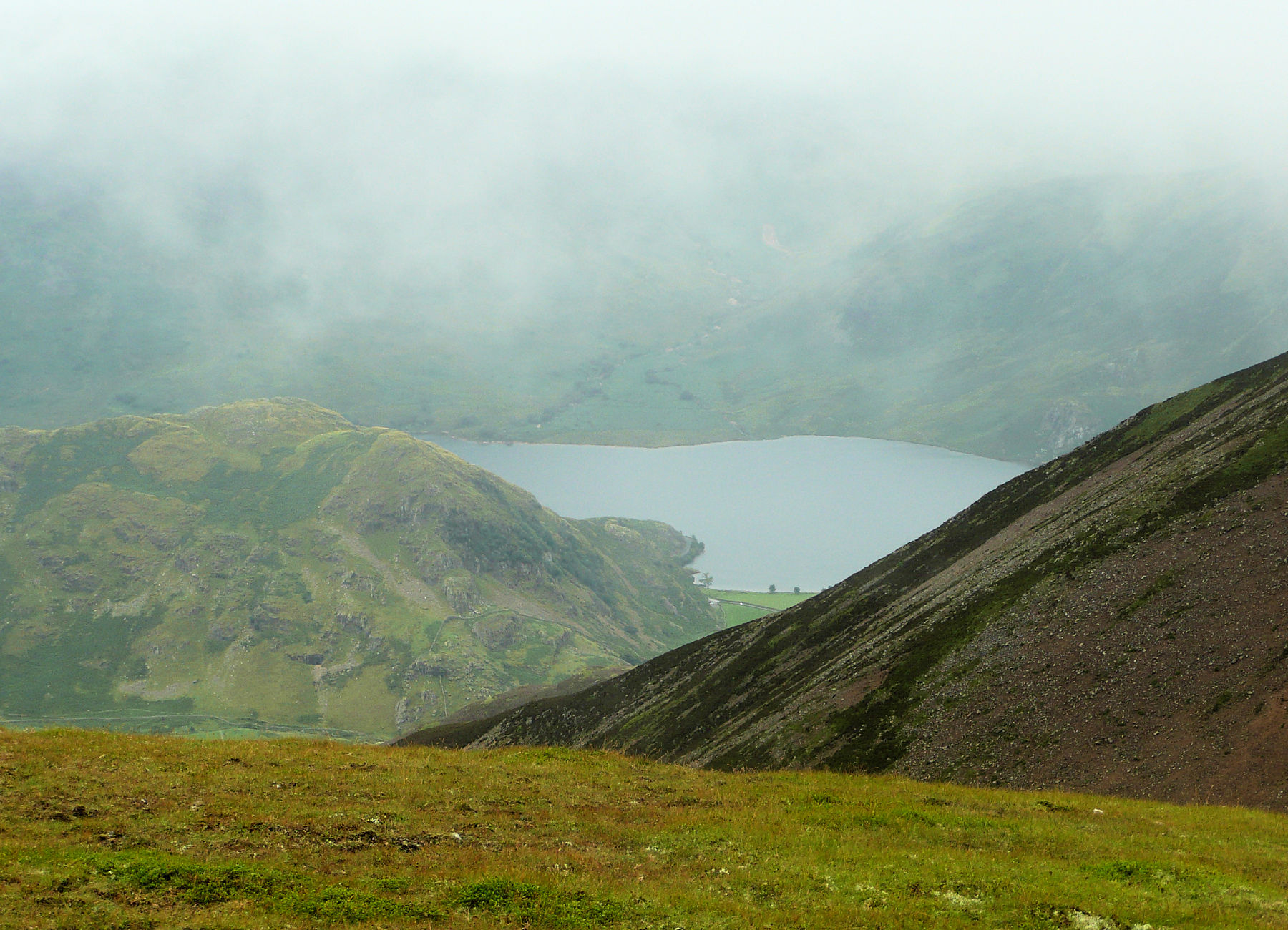 Buttermere from Grasmoor
