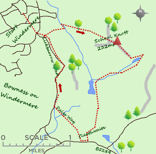 Windermere map