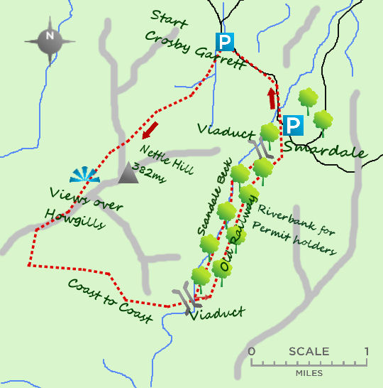 Smardale map