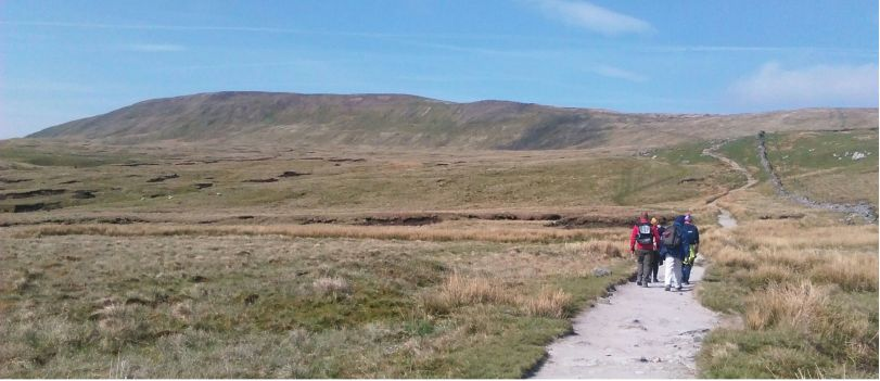 Approaching Whernside