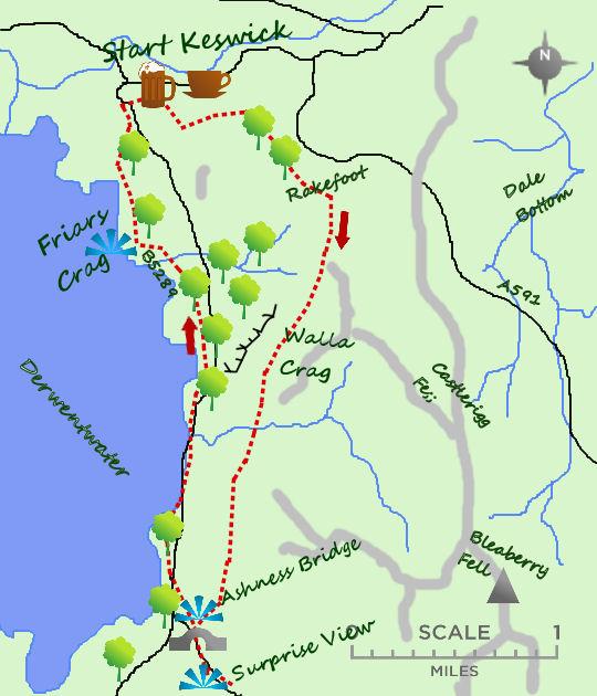 Keswick map