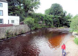 River Eden at Kirkby Stephen