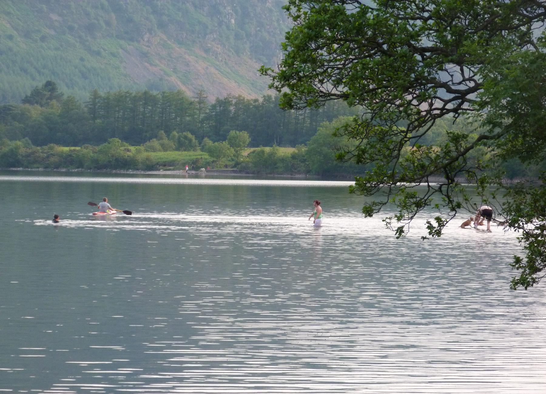 Swimming in Ennerdale