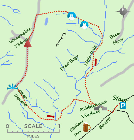 Whernside map