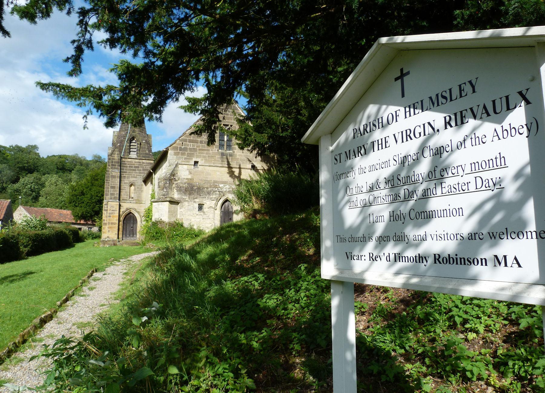 Rievaulx Church