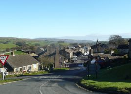 Approaching Hawes