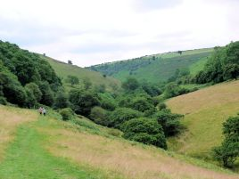 The valley below Horcum Hole