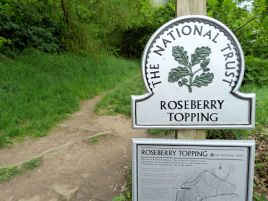 Roseberry Topping entrance