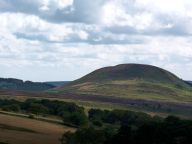Views south to Easterside Hill