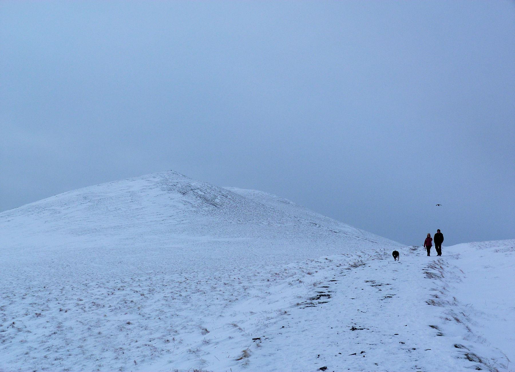 Summit area Skiddaw