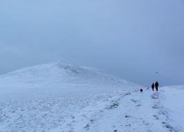 Summit area Skiddaw