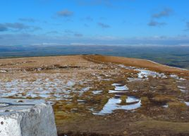 Pendle Hill, looking east