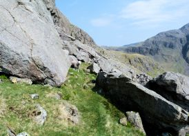 Climbers Traverse