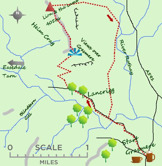 Lion & the Lamb map