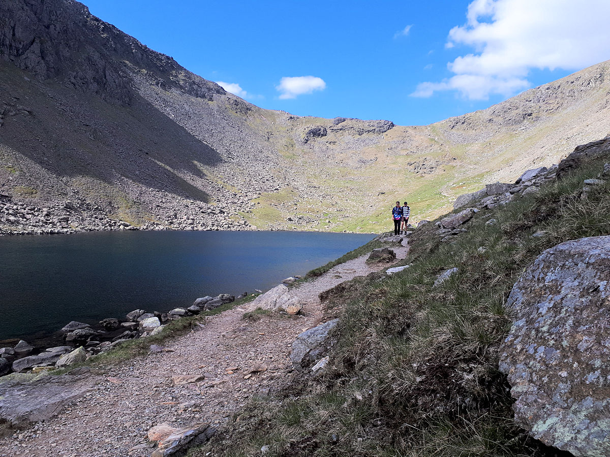 Goats Water and col to the Old Man