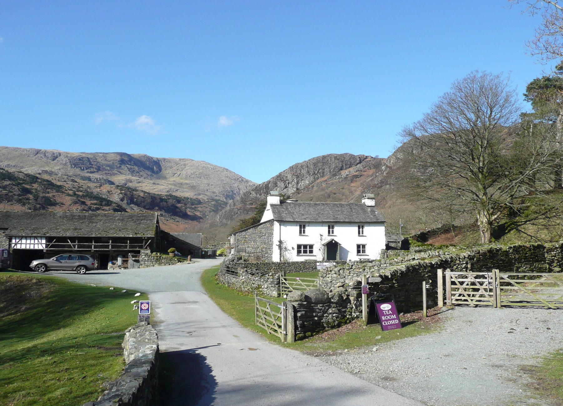Yew Tree Cottage and Wetherlam