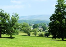 Pendle Hill from Chatburn