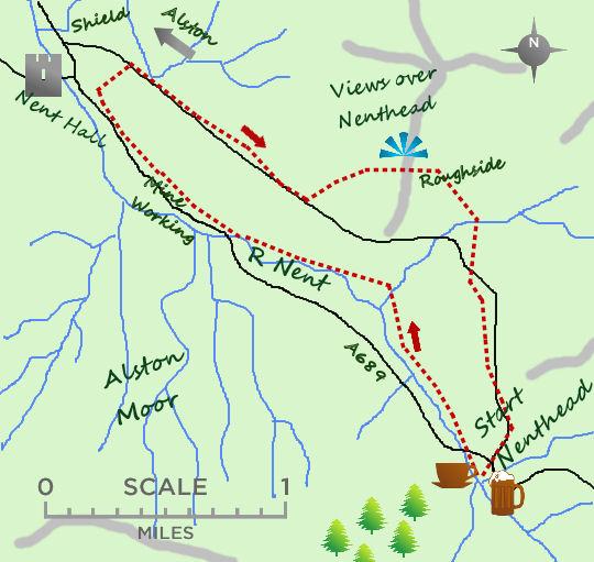Nenthead map