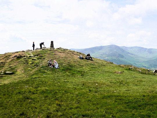Summit Loughrigg Fell