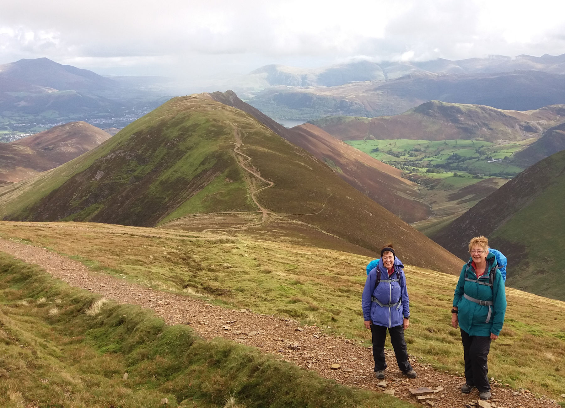 Causey Pike from Sail
