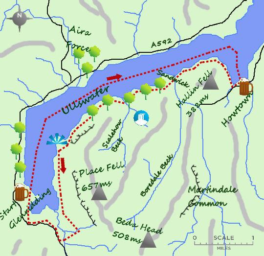 Ullswater map