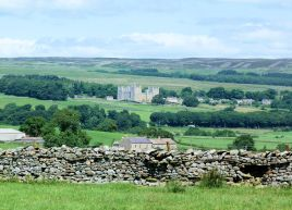 Castle Bolton from Aysgarth