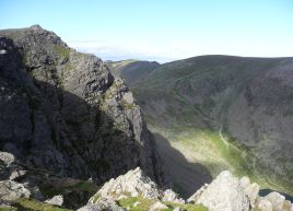 Dow Crag summit area