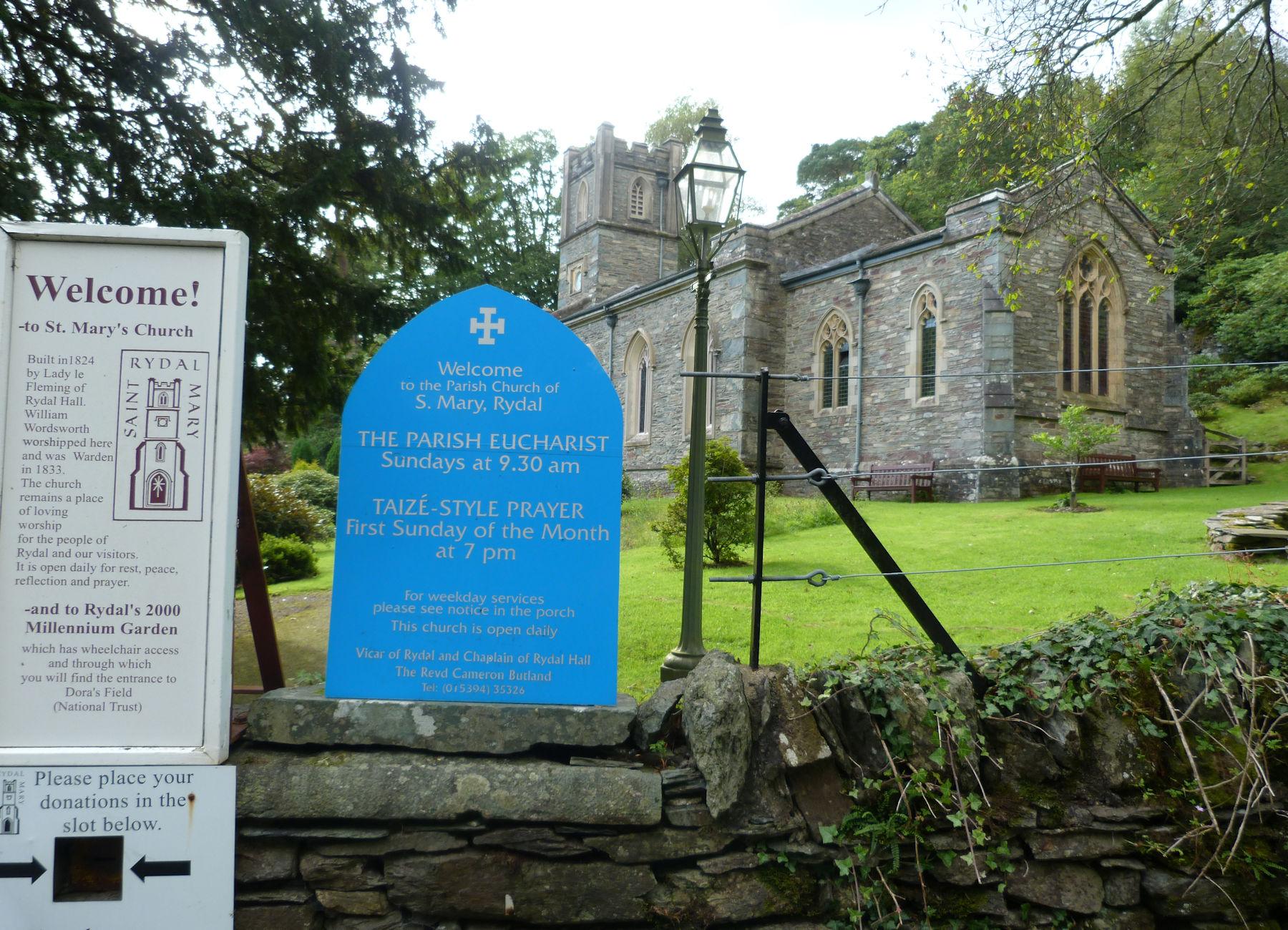St Marys Church Rydal