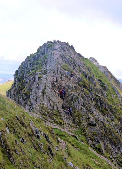 Final section Striding Edge