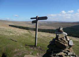 Pennine Way on Cam Road